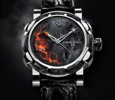Sopečné hodinky Eyjafjallajökull-DNA od Romain Jerome