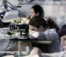 Manufaktura značky hodinek Nomos