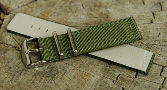 Rubová a lícová strana pásku Campagnolo Miggy.