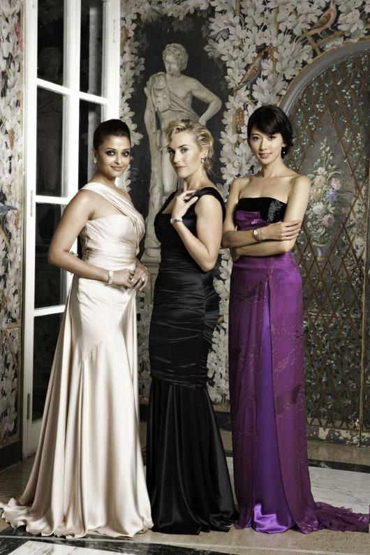 Kate Winslet, Aishwarya Rai Bachchan a Chi Ling Lin odhalí nové přírůstky kolekce hodinek Longines DolceVita