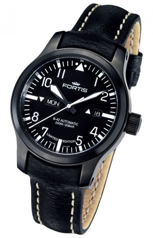 B-42 Flieger Black Day/Date