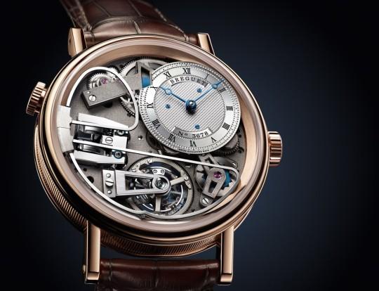 Breguet Tradition 7087 – růžové zlato v podání jedné z nejvěhlasnějších hodinářských značek. Zdroj: http://www.breguet.com