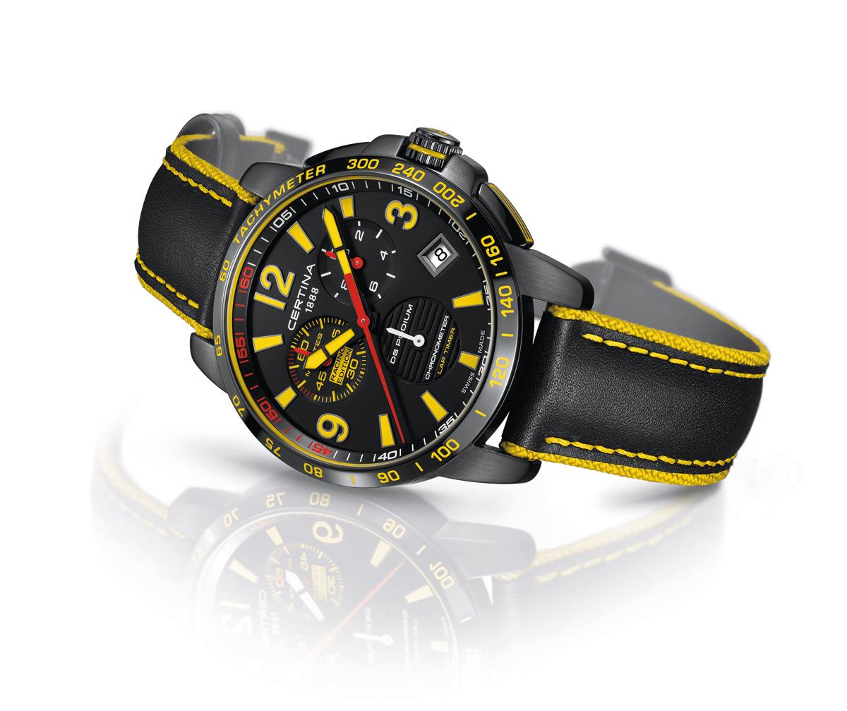 Certina DS Podium Chronograph Lap Timer – Racing Edition ea73694a6cd