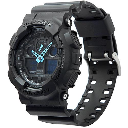 Casio G-Shock GA100C-8A - jedny z velmi cenově dostupných hodinek G-Shock