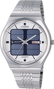 Citizen Crystron Solar Cell - první solární hodinky