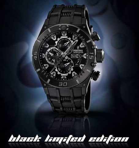 FESTINA Black Limited Edition Chronograph