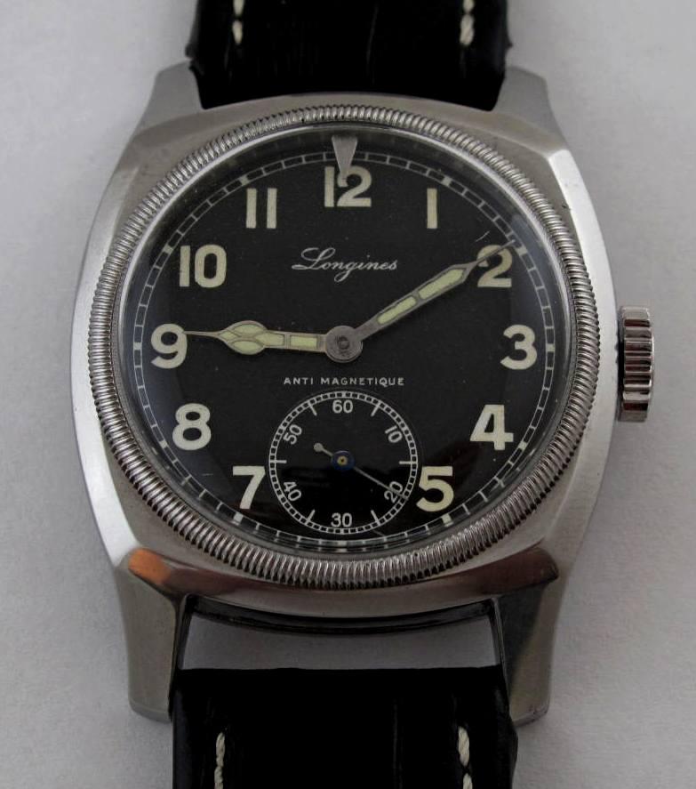 Longines MVS - hodinky našich pilotů se proslavily za druhé světové války. f35a7c85cd6