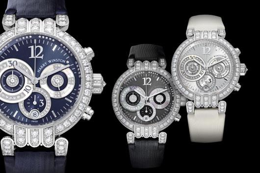 Excelence a tvořivost mistrovské hodinářské firmy Harry Winston - kolekce Premier 2010