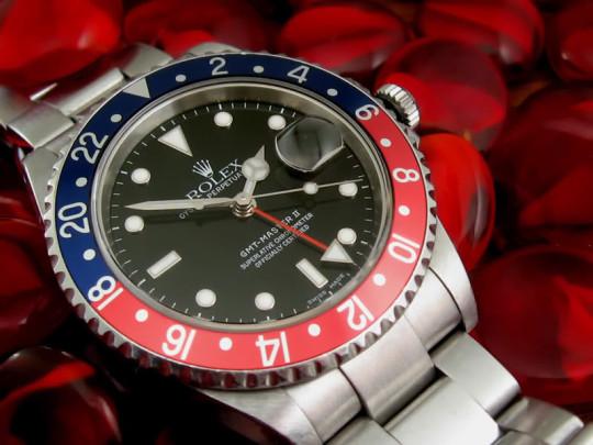 Rolex GMT Master II (zdroj Wikipedia)