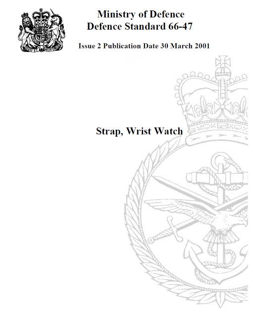 Ministry of Decence Standard 66-47 strap