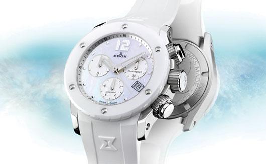 Nové dámské hodinky Edox Chronolady