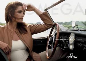 Cindy Crowford a Omega