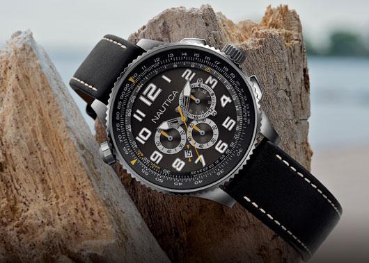 Námořnické hodinky NAUTICA SET SAIL WITH THE OCN 46