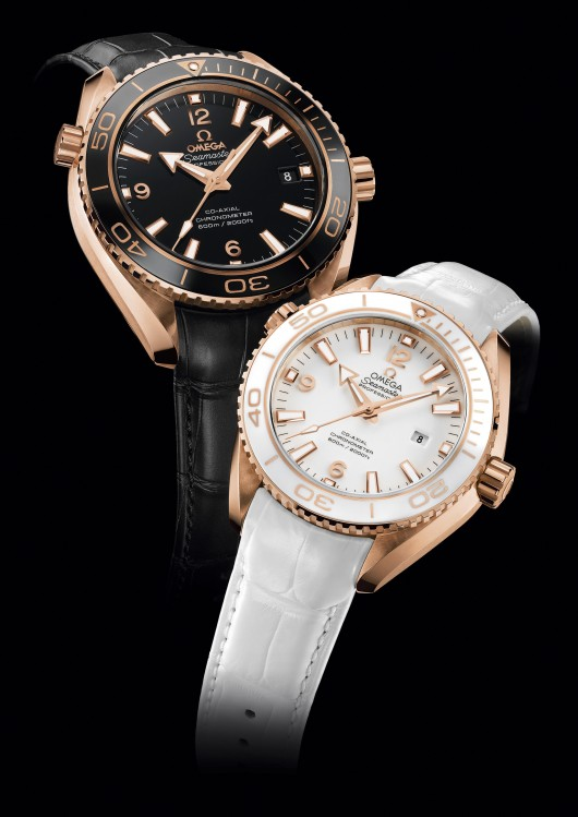OMEGA PLANET OCEAN CERAGOLD SE153_PO 42mm and 37.5mm