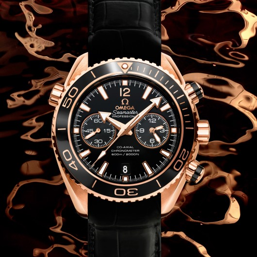 OMEGA PLANET OCEAN CERAGOLD SE156 Planet Ocean 45mm  chrono 232.63.46.51.01.001 4255517d5ef