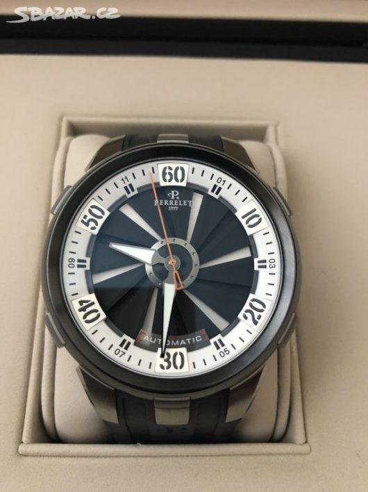 Švýcarské luxusní hodinky Perrelet Turbine XL A1050/4