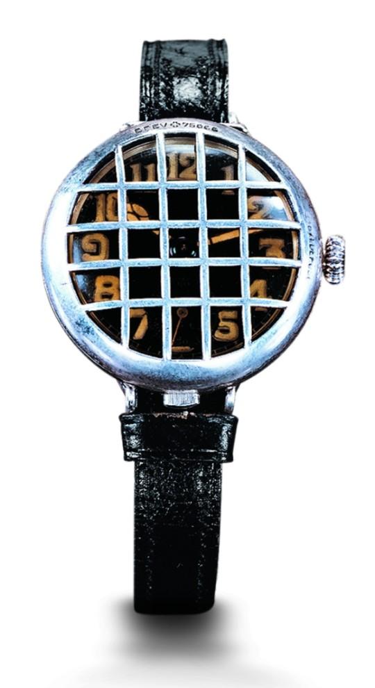 První náramkové hodinky vyrobené na objednávku císaře Viléma I, pro důstojníky německého císařského námořnictva - Girard-Perregaux.