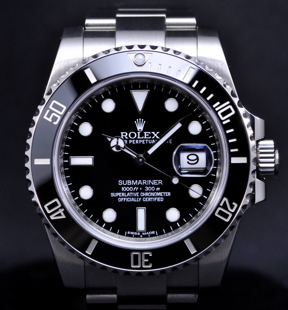 Rolex Submariner Ceramic Bezel 116610