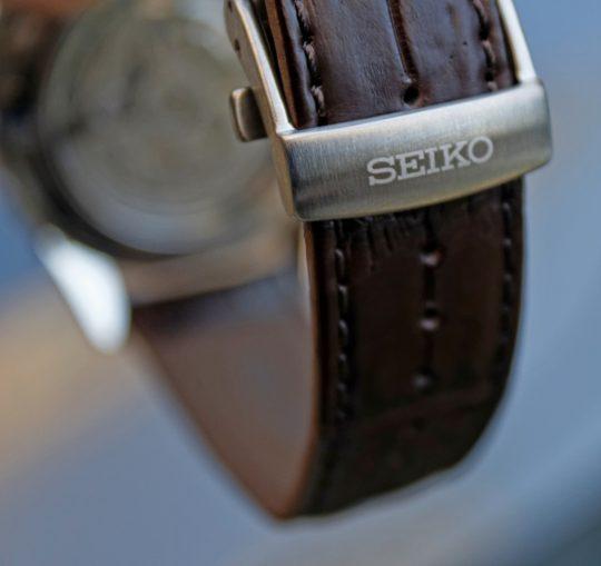 Seiko SPB039J1 – detail překlápěcí spony.