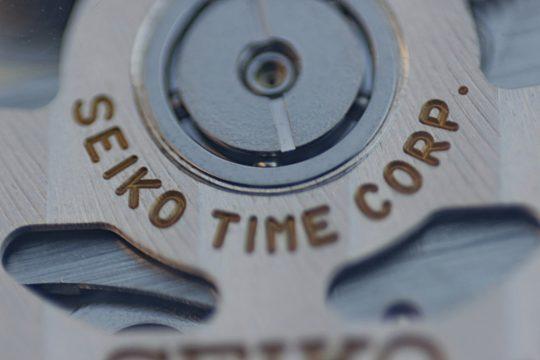 Seiko SPB041J1 - Detail uchycení rotoru.