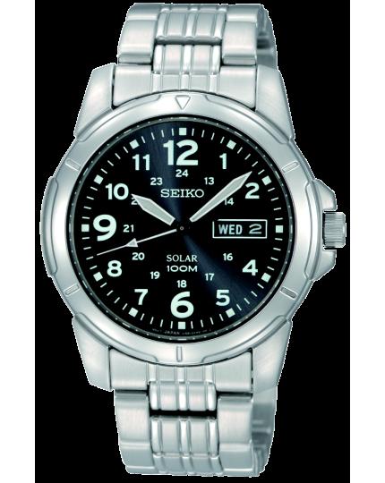 Cenově dostupné solární hodinky Seiko SNE095P1