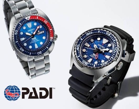 Speciální edice potápěčských hodinek Seiko PADI