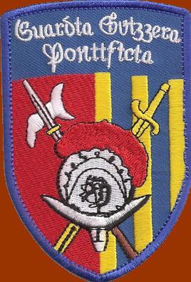 Znak Švýcarské gardy