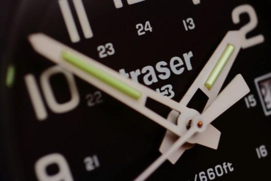 Traser Outdoor Pioneer – detail ruček.