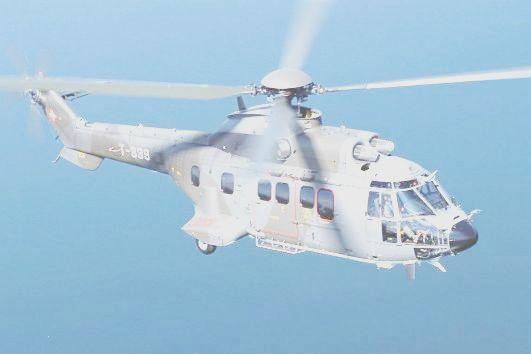 Vrtulník Cougar Parsys