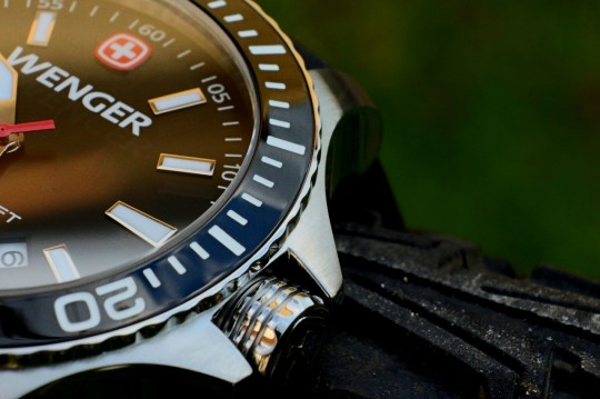 Wenger Sea Force – ochrana korunky.