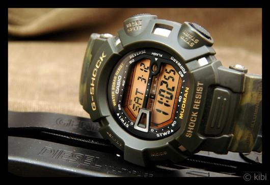 """Casio G-Shock G-9000 """"Mudman"""" - camouflage"""