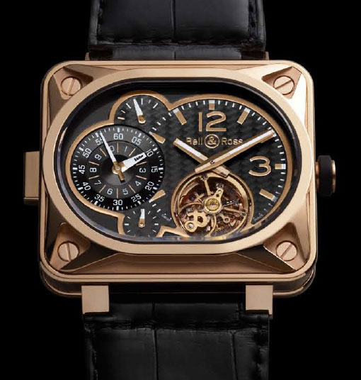 Bell & Ross MINUTEUR tourbillon Pink gold