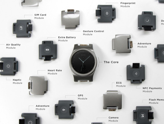 Moduly pro hodinky Blocks
