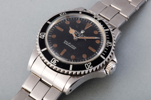 Rolex Submariner z roku 1973