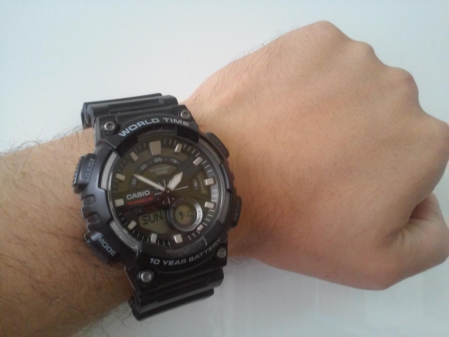 3aa5c2956 Casio AEQ 110 – pomocník do nepohody   Nosime-hodinky.cz