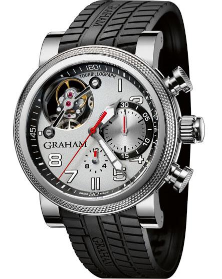 Graham London Trackmaster Chroium limitovaná edice hodinek