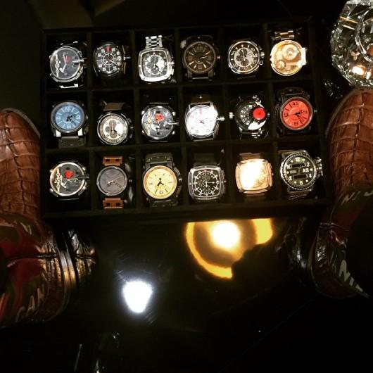 Arnold Schwarzenegger představuje vlastní hodinky