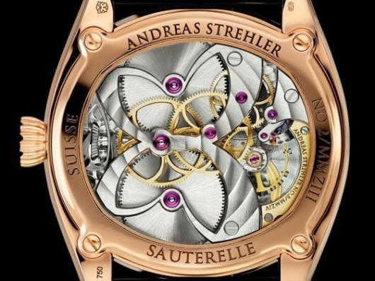 hodinky s nejpřesnější měsíční fází detail
