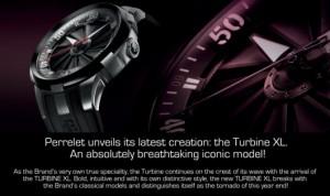 Turbínové automatické hodinky Perrelet