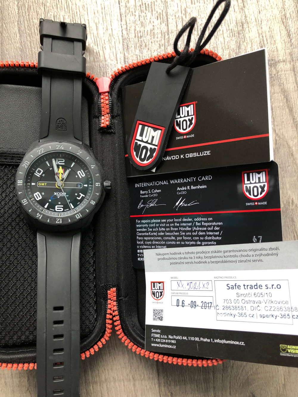 Luminox Space XX.5021.XS - PRODÁNO  91449244fac