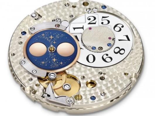 měsíční fáze jako komplikace hodinek, strojek