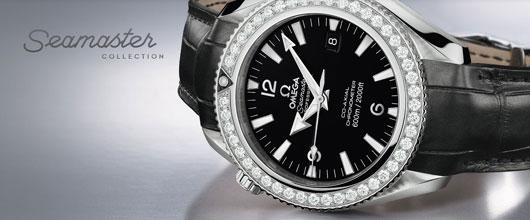 7223ea9166 Dnes se podíváme na luxusní dámskou kolekci hodinek značky Omega –  Seamaster.