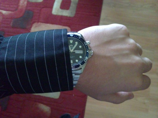 Orient Ray na ruce.