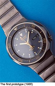 První prototyp Seiko Kinetic 1988