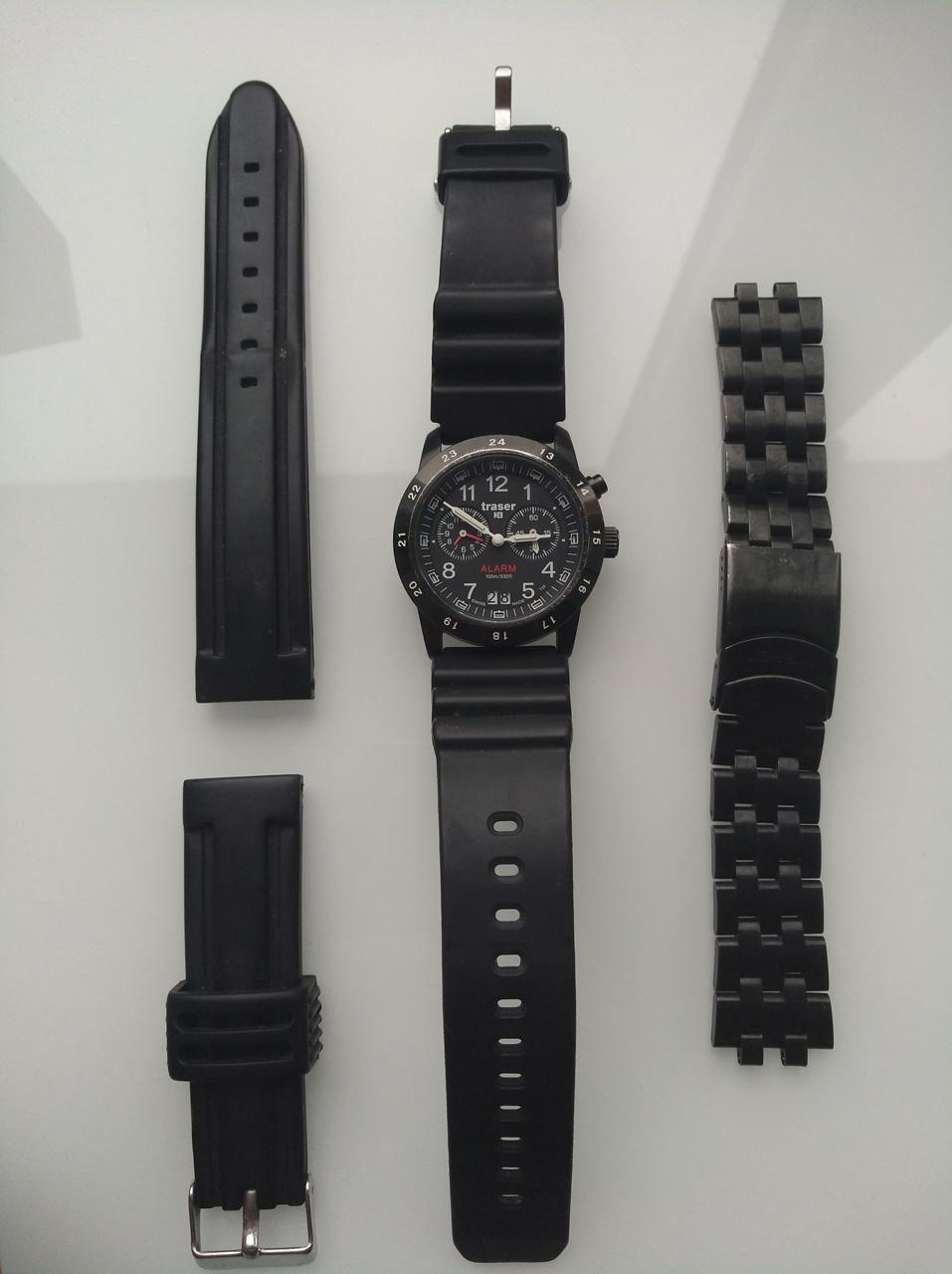 fbe481804 Traser Classic Alarm Bd Pro Blue - PRODÁNO | Nosime-hodinky.cz