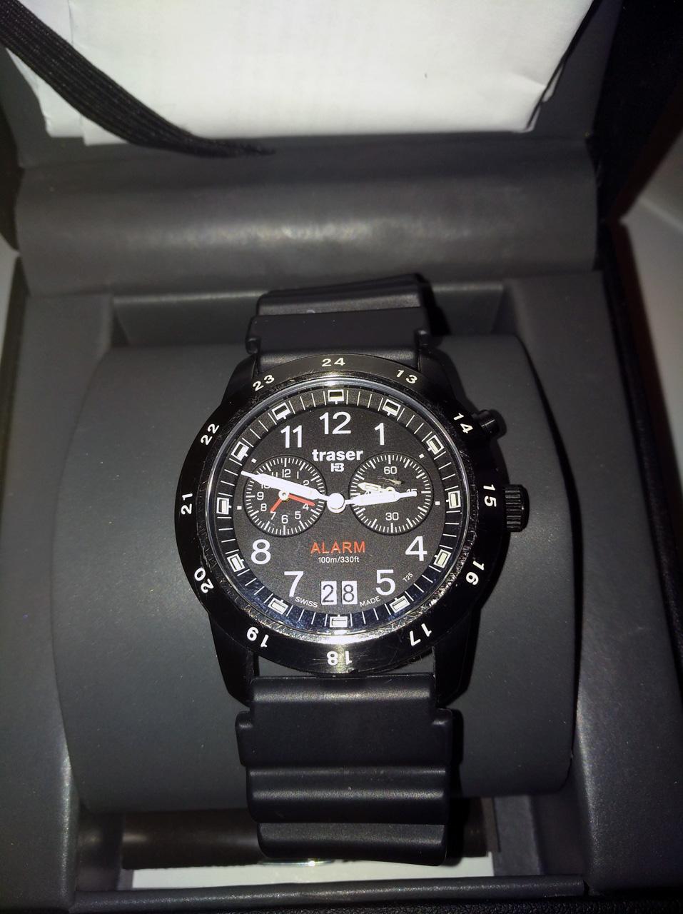Prodam hodinky Traser Classic Alarm se safirovym sklickem 81d2117b42