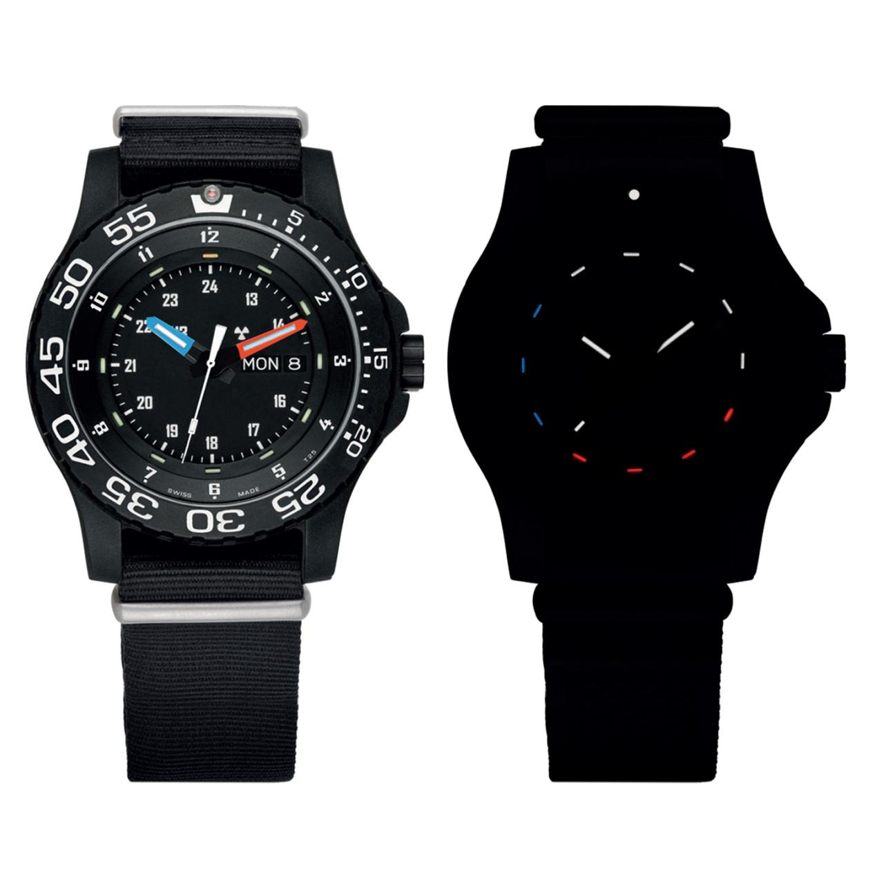 cdcf51c7f07 Model vychází z hodinek Traser Elite Red. Má však několik úprav