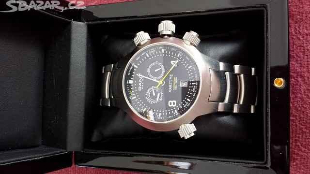2014 (PRODÁNO) – Prodam hodinky Gant Maritime. Jde o model Volvo Ocean Race  limited edition. Hodinky jsou nenosene 3fcc1bc176
